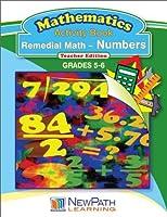 NewPath Learning Remedial Math-Numbers Reproducible Workbook Grade 5-6 [並行輸入品]
