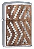 ZIPPO(ジッポー) ライター ウッドエンブレム 両面加工 ウッド貼り ヘリンボーン 29902