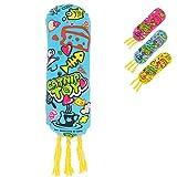 YATDA 猫おもちゃ けりぐるみ おもちゃ キャットニップ入り キャンディ型なペットおもちゃ 猫 運動不足 ストレス解消 ダイエット用 ペット遊びおもちゃ (ブルー)