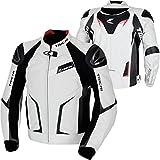 RSタイチ(アールエスタイチ)バイクジャケット ホワイト/ブラック (EUR 48/M) GMX アローレザージャケット RSJ832