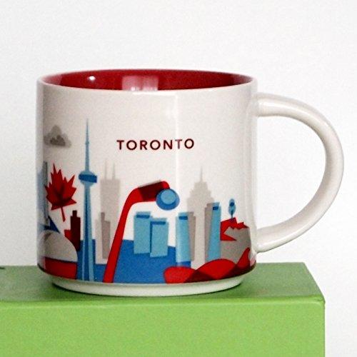 スターバックス(Starbucks)ユー・アー・ヒアー・コレクション カナダ トロント 限定 マグカップ (ギフトBox) 414ml/14fl oz [並行輸入品]