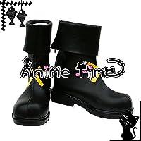●●サイズ選択可●●女性23CM MJR1688 コスプレ靴 ブーツ 魔法少女リリカルなのはA's 八神はやて