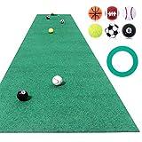 GolfStyle パターマット ゴルフ パター 練習 マット ベント ゴルフボール付き 50cm×3m Jシリーズ