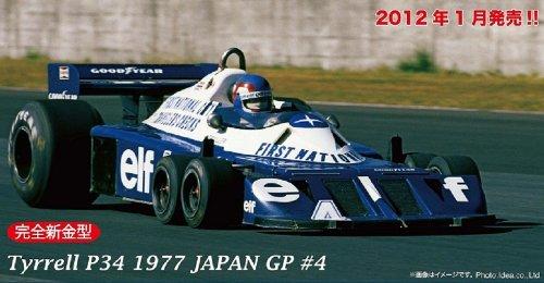 フジミ模型 1/20 グランプリシリーズ No.35 ティレルP34 1977 日本GP #4 パトリック・デュパイエ ロングホイールバージョン