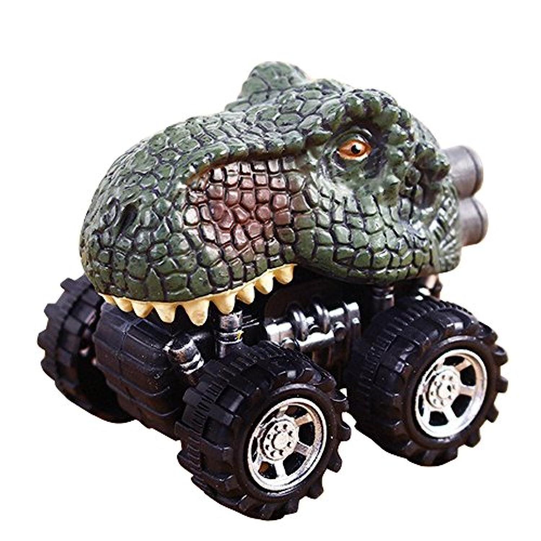 Wffo プルバック 恐竜 車 恐竜模型 ミニトイ 車 クリエイティブギフト 3~12歳 男の子 女の子 Wffo - toy