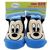 ミッキーマウス《ストライプ》ベビーソックス(新生児靴下)ディズニーキャラクターグッズ通販