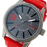 ディーゼル DIESEL ラスプ RASP クオーツ メンズ 腕時計 DZ1806 ガンメタ/レッド