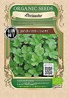有機種子 コリアンダー/パクチー/シャンサイ S 種蒔時期 4~7月、9~10月 【 ネコポス可 】