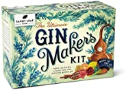 Ultimate Gin Maker's Kit - Make Eight Big Bottles of Your own Gin - Flavours Including Classic Citrus, Cho
