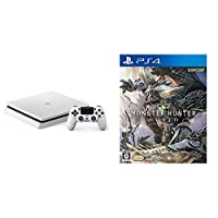 PlayStation 4 グレイシャー・ホワイト 1TB (CUH-2100BB02) + モンスターハンター:ワールド
