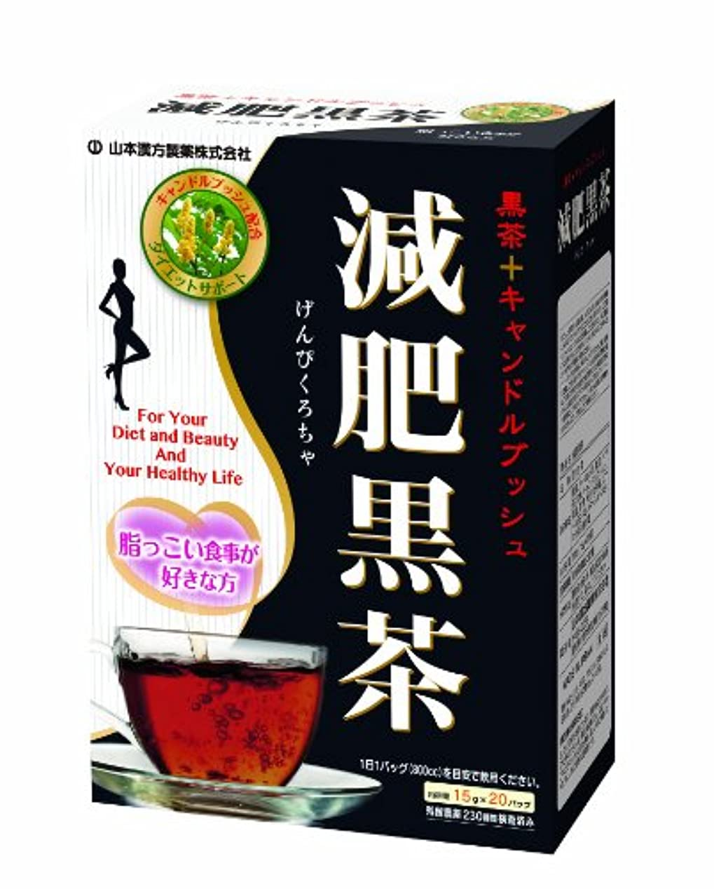 市民権ナース嫌がる山本漢方製薬 減肥黒茶 15gX20H