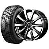 【2017年製】国産スタッドレスタイヤ(225/65R17)+ホイール(17インチ) 4本SET(1台分)■Bセット:マナレイ ユーロスピードG-10[メタリックグレー]