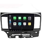 SYGAV Android 10 Car Stereo for 2008-2013 Mitsubishi Lancer EVO X with Carplay OEM Rockford Fosgate AMP Radio GPS Navigation
