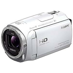 SONY HDビデオカメラ Handycam HDR-CX670 ホワイト 光学30倍 HDR-CX670-W