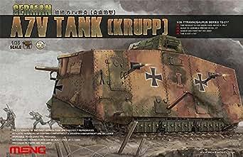 モンモデル 1/35 第一次世界大戦 ドイツA7V戦車 クルップ