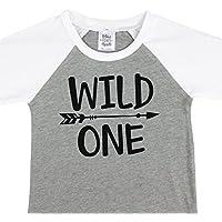 Wild One 1st Birthday Shirt For Boys Wild One Baseball Tee Shirt For Boys 1st Birthday [並行輸入品]