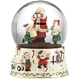 Lenox Holiday Musical Snowglobe Centerpiece