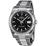 [ロレックス]ROLEX 腕時計 デイトジャスト 116234 ツートン(グレー シルバー) バー メンズ [並行輸入品]