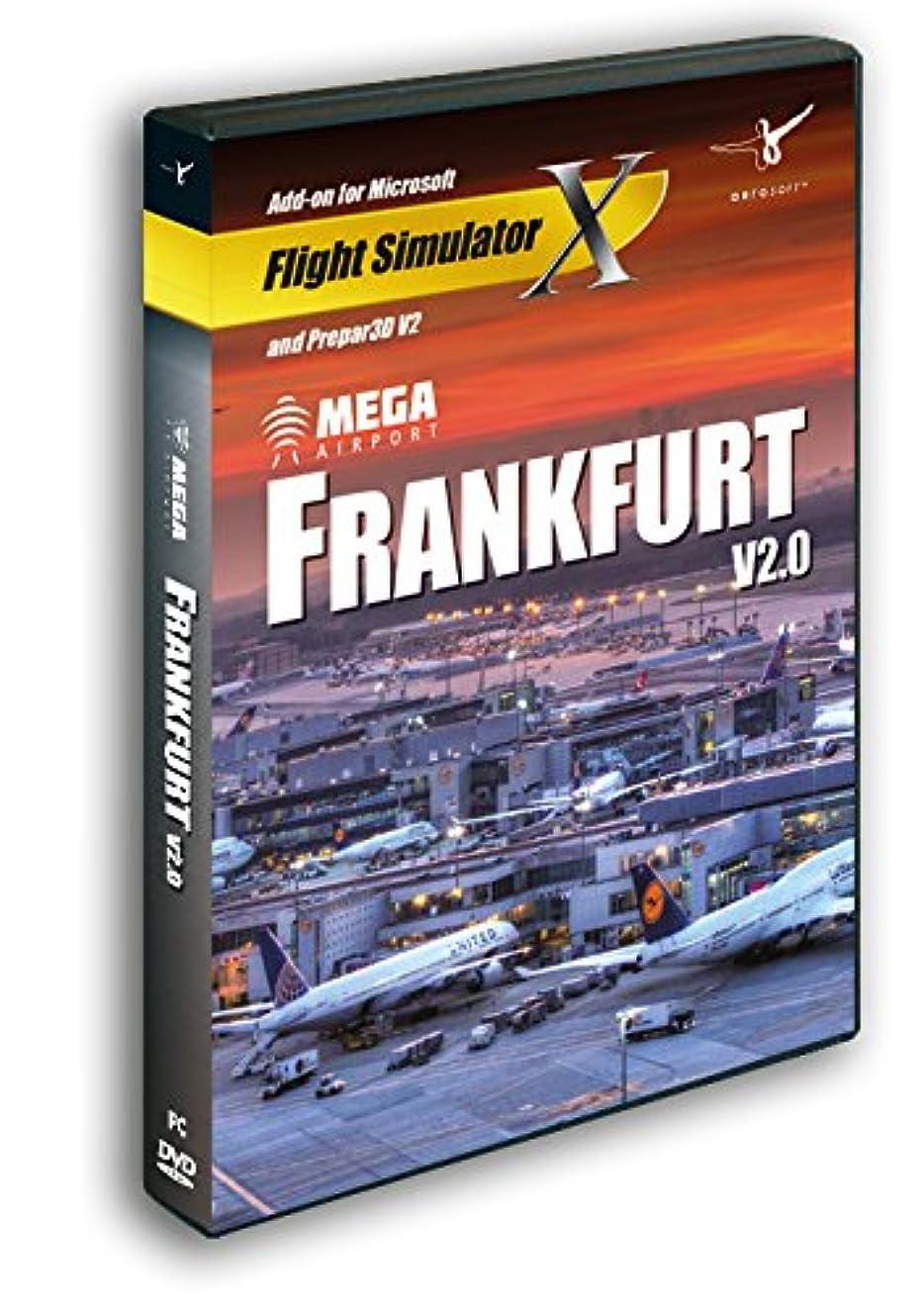 悩み聖域初心者Mega Airport Frankfurt V2.0 (FSX+FSX:SE+P3D)(輸入版)
