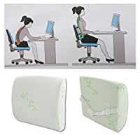 Lower Back枕サポートLumbarクッションPain Relief Rest車オフィス椅子Seat