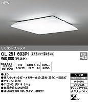 オーデリック シーリングライト OL251603P1