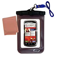 Underwater Case for the Motorola CLIQ 2–weather、安全に保護防水ケースagainst the elements