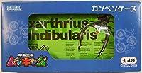 甲虫王者ムシキング カンペンケース 筆箱 Hexarthrius mandibularis マンディブラリスフタマタクワガタ