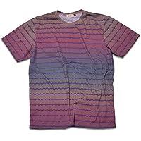 [ジェームズ・スクエア] エスニック コットン Tシャツ メンズ ネイティブ柄