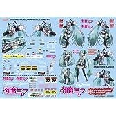 グッドスマイルカンパニー GSRキャラクターカスタマイズシリーズ 初音ミク 1/24scale用デカール01