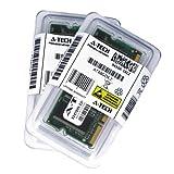 1GB キット (2 x 512MB) BenQ Joybook 5000G-T01 5000G-T06 5100-$09 5100E 5100G 5100U-$03 5100U-$07 5100U-$10 5100U-$11 5100U-$31。 SO-DIMM DDR NON-ECC PC2700 333MHz RAMメモリ A-Tech純正ブランド。
