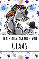 Trainingstagebuch von Claas: Personalisierter Tagesplaner fuer dein Fitness- und Krafttraining im Fitnessstudio oder Zuhause