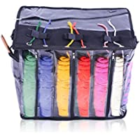 Imperius Yarn Storage Bag/Portable Tote Easy to Crochet/Knitting Organisation.Storage for Accessories and Slits on Top to Protect Wool and Prevent Tangling