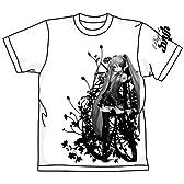 初音ミク -Project DIVA- 初音ミク -Project DIVA-ミクTシャツ ホワイト サイズ:L
