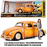 TRANSFORMERS BUMBLEBEE 1971 VW BEETLE & CHARLIE 【トランスフォーマー バンブルビー ミニカー】
