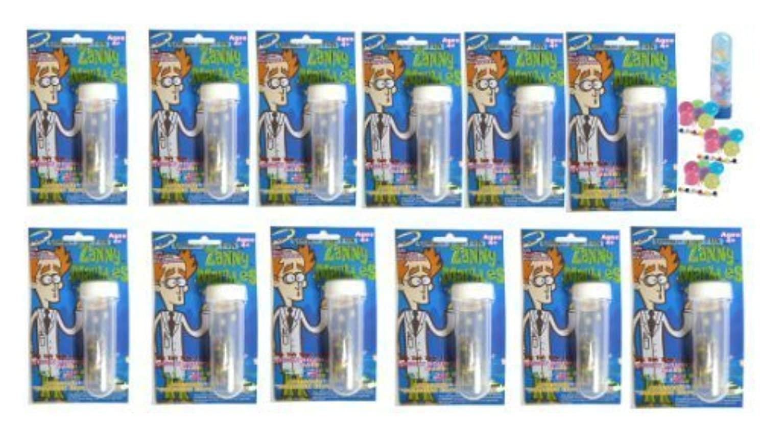 消防士ガム寛容12 Pack of Kid's Science Projeck Kits- Zanny Marbles (Tm): Watch the Tiny Water Marble Ball Grow to More Than 400 Times Their Volume. [並行輸入品]