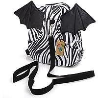 Babyhugs? Kids Walker Safety Harness Back pack with detachable Reins - Zebra Batwings by BabyHugs