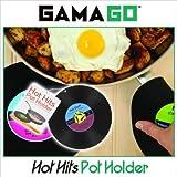 【GAMAGO】ガマゴ Record Pot Holder (レコード ポット ホルダー)  キッチン 水周り シリコン 鍋敷き ランチ マット キッチン周りを楽しく華やかに♪ 料理 朝食 昼食 夕飯 ディナー ランチ