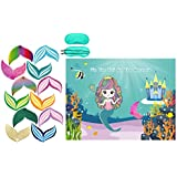 Mermaid Party Favors Pin The Tail on The Mermaid Party Game Under The Sea Party Games 36 Reusable Tails Mermaid Party Supplies