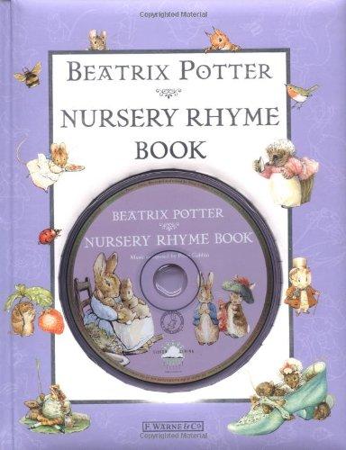 Beatrix Potter's Nursery Rhyme book & CD (Peter Rabbit)の詳細を見る