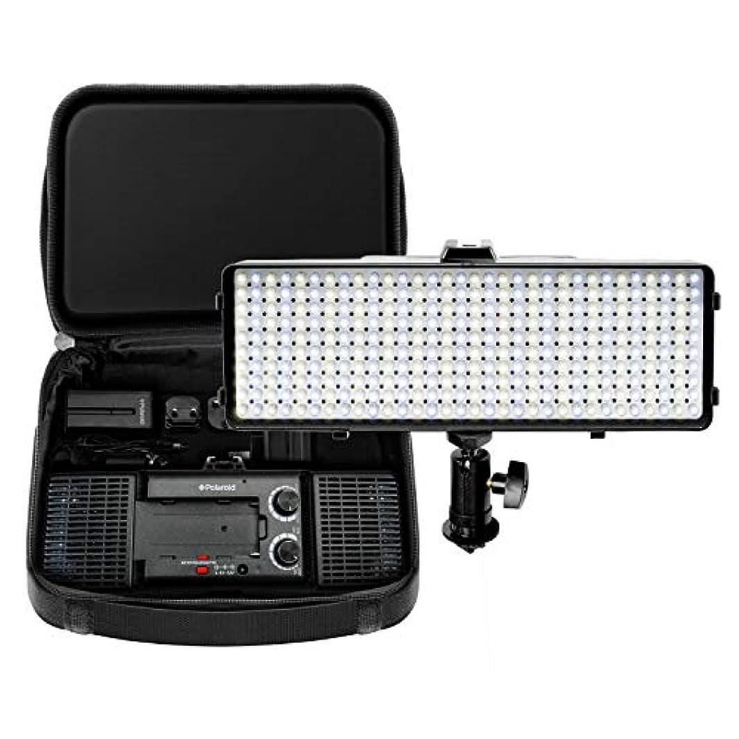 スペード類推洞窟ポラロイド 320球 調光LED ライト 可変光温度 超高輝度 デジタルSLRカメラ & カムコーダー用