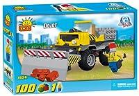 New! COBI Action Town Dozer 100 Piece Building Block Set