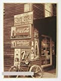 ヴィンテージ風 古き良き アメリカの街角 レトロ看板 オシャレポスター カフェやバーの 装飾に