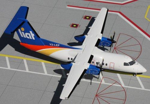 1: 200 ジェミニジェット LIAT Dash 8-100 (並行輸入)