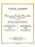 MAXIME ALPHONSE - Nuevos Estudios Vol.6: 10 Grandes Estudios Melodicos y de Virtuosidad para Trompa