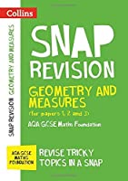 Collins Snap Revision ? Geometry and Measures (for papers 1 2 and 3): AQA GCSE Maths Foundation【洋書】 [並行輸入品]