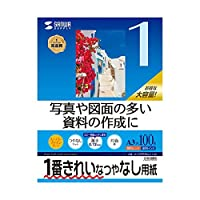 (まとめ)サンワサプライ インクジェット用スーパーファイン用紙A3サイズ100枚入り JP-EM5NA3-100【×3セット】 ds-1622829