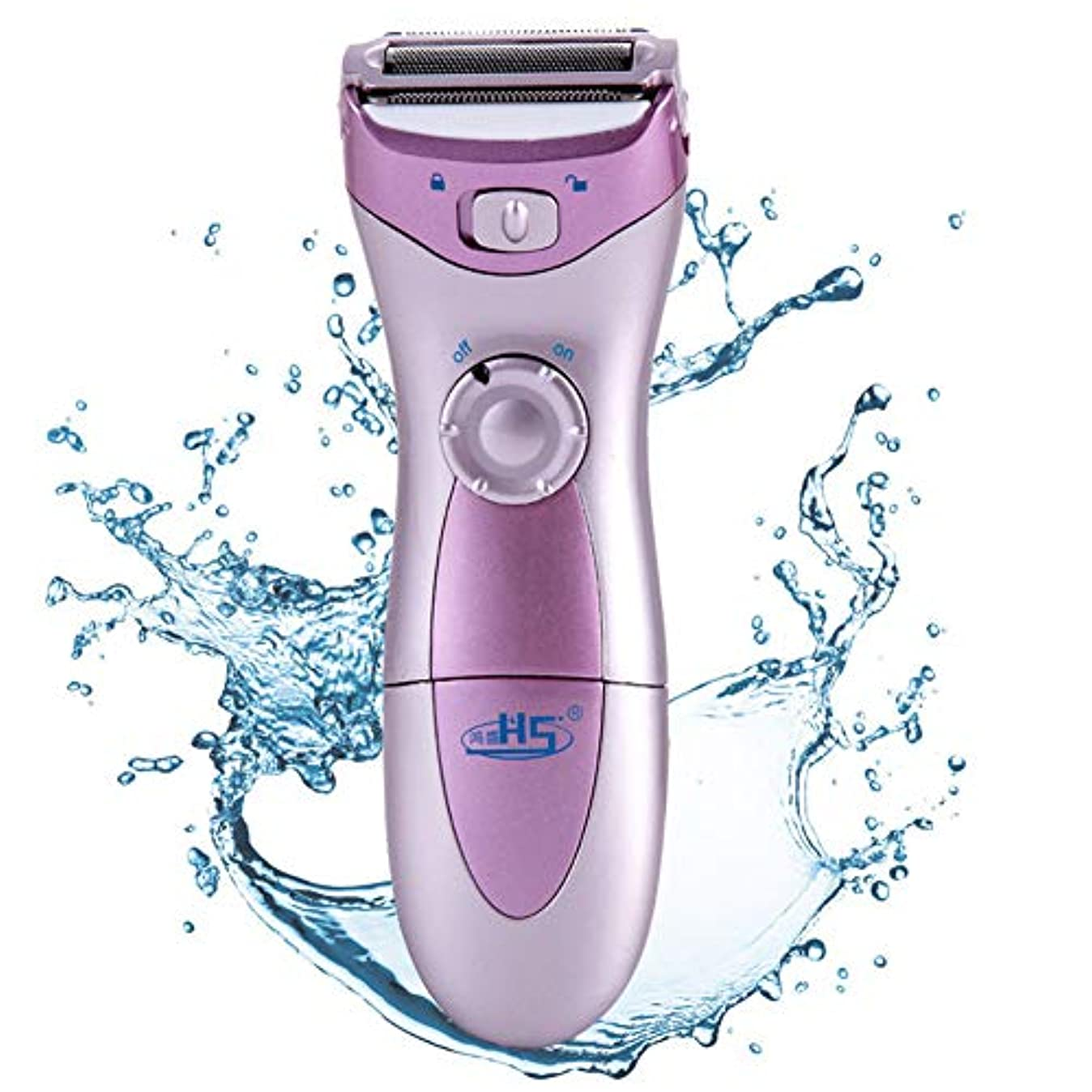 異形フェリー効率女性の電気かみそりの腕および腕のための乾湿両方の毛の取り外しのビキニのトリマー