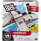 Tech Deck - Starter Kit - Ramp Set with Exclusive Board and Trainer Clips