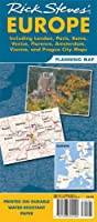 Rick Steves Europe Planning Map: Including London, Paris, Rome, Venice, Florence, Amsterdam, Vienna & Prague City Maps (Rick Steves' Europe Planning Map)