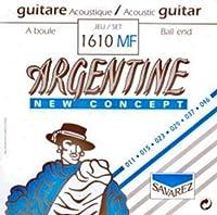 CUERDAS GUITARRA ACUSTICA - Savarez (1610/MF) Argentine/Lite (Juego Completo 011/046B)
